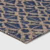 2'X3' Jacquard Woven Accent Rug Blue - Threshold™ - image 2 of 3