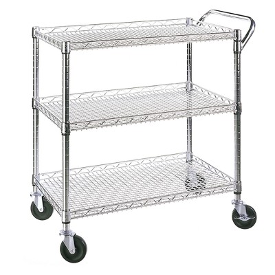 Seville Classics NSF Listed Industrial All-Purpose Utility Cart