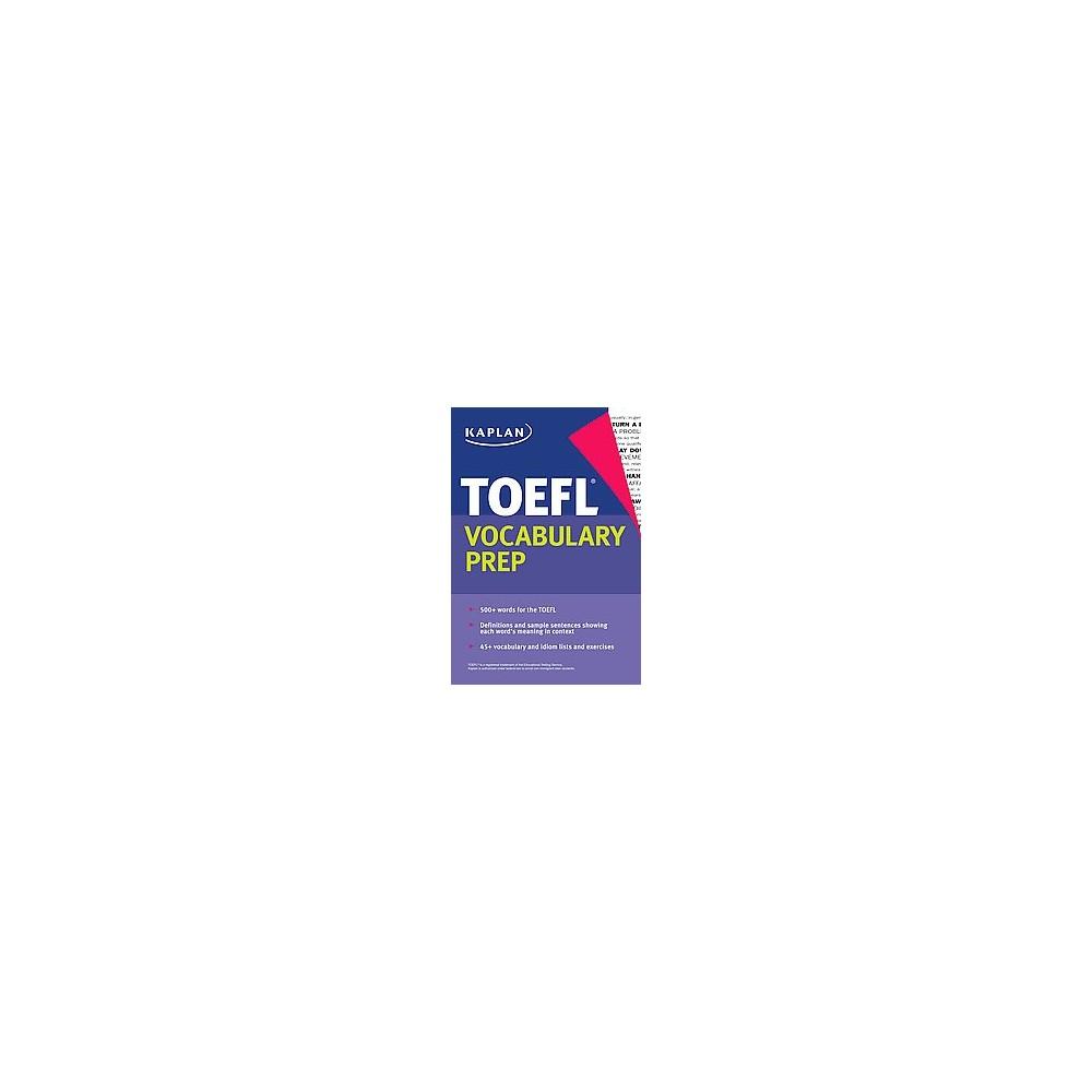 Kaplan Toefl Vocabulary Prep (Paperback)