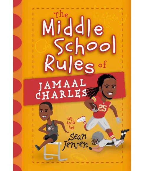 Middle School Rules of Jamaal Charles (Hardcover) (Sean Jensen) - image 1 of 1