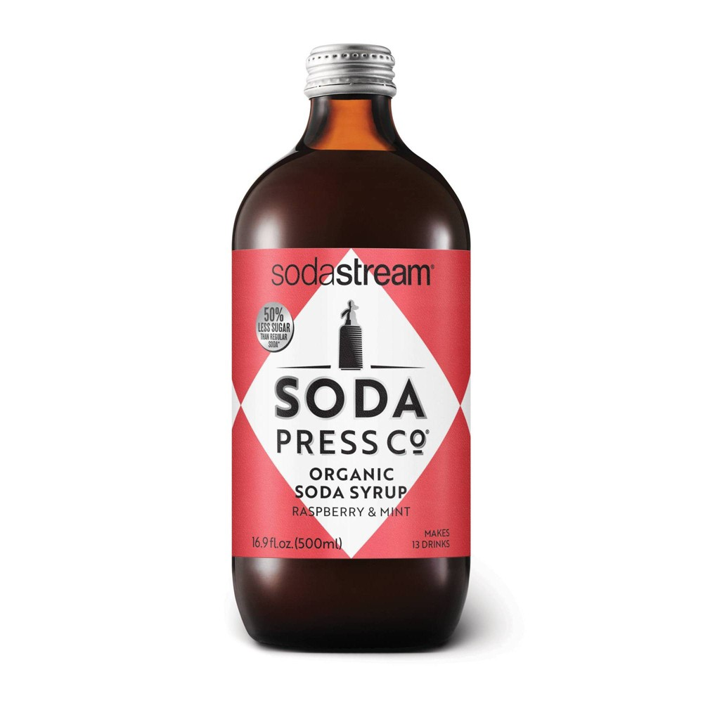 Image of Soda Press Raspberry and Mint Drink Mix