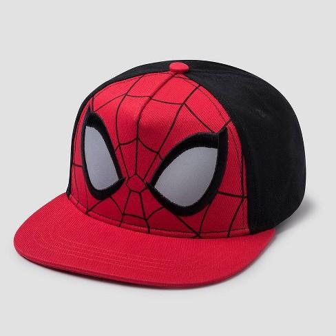 Boys' Spider-Man Flat Brim Baseball Hat - image 1 of 1