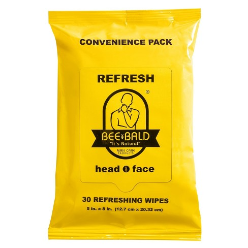 Bee Bald® Refreshing Wipes After Shave Care - 30ct - image 1 of 1