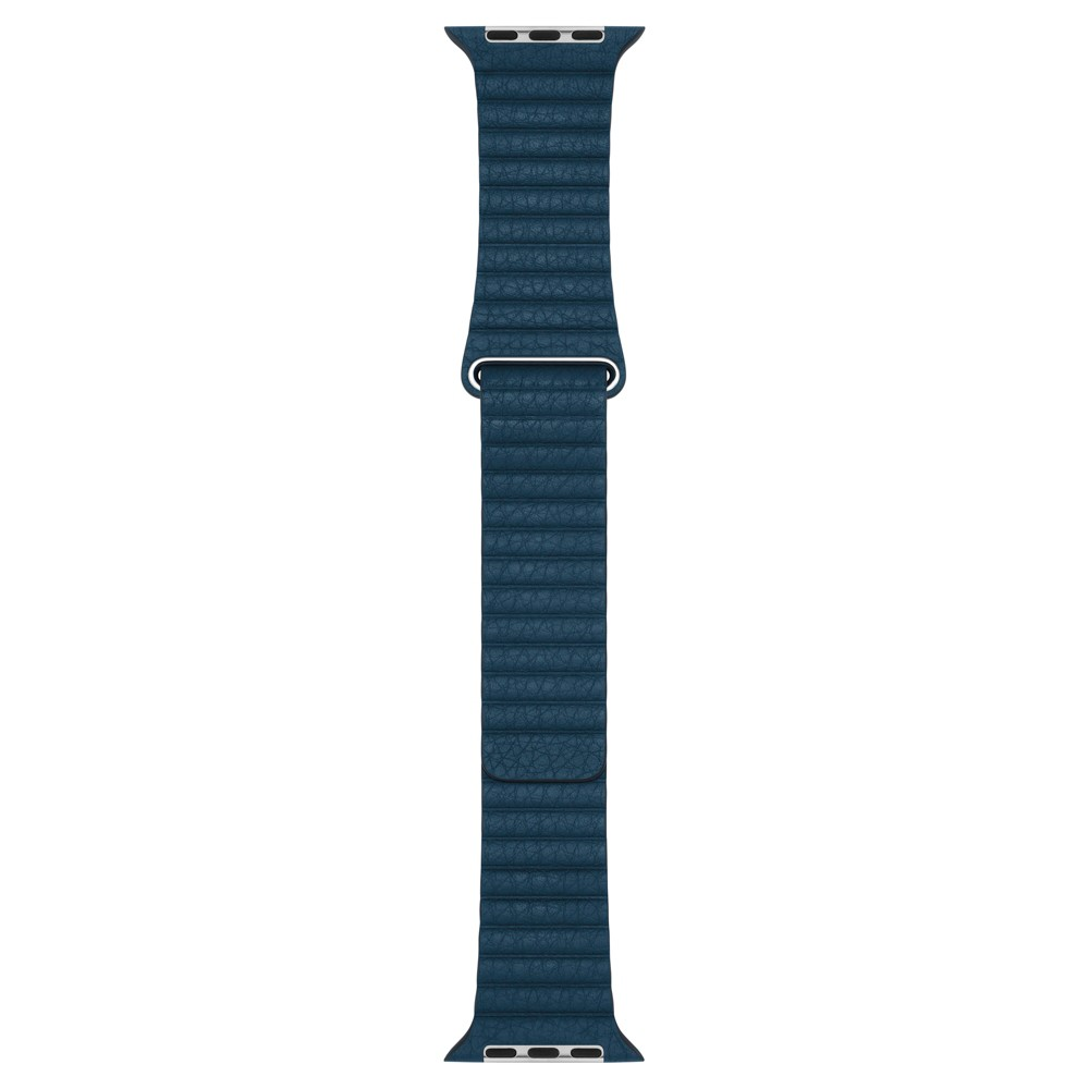 Apple Watch Leather Loop 42mm Medium - Cosmos Blue