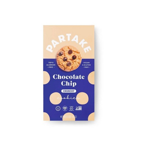 Partake Gluten Free Vegan Chocolate Chip Cookies - 5.5oz - image 1 of 3