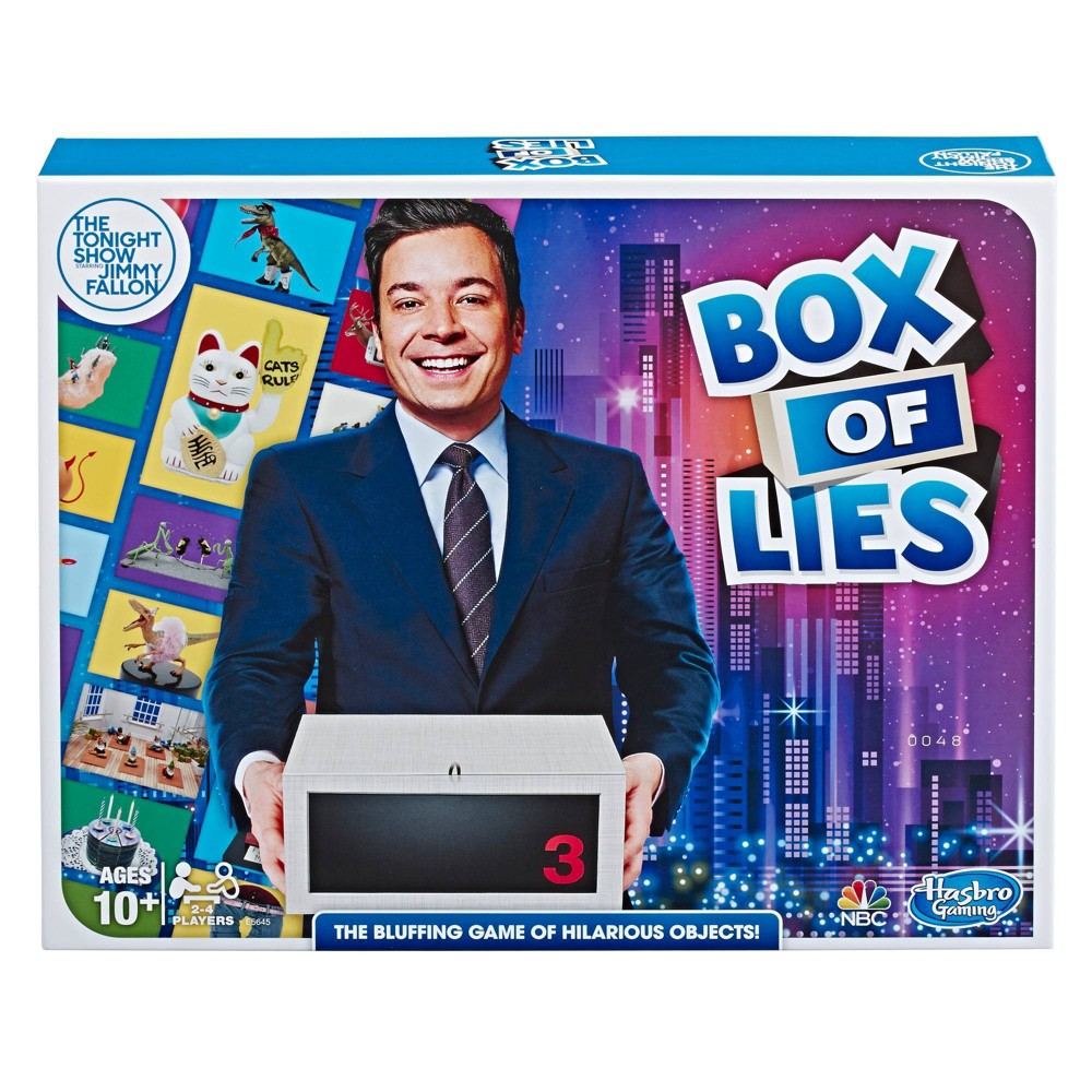 Closeout! The Tonight Show Starring Jimmy Fallon Box of Lies Party Game for Teens and Adults