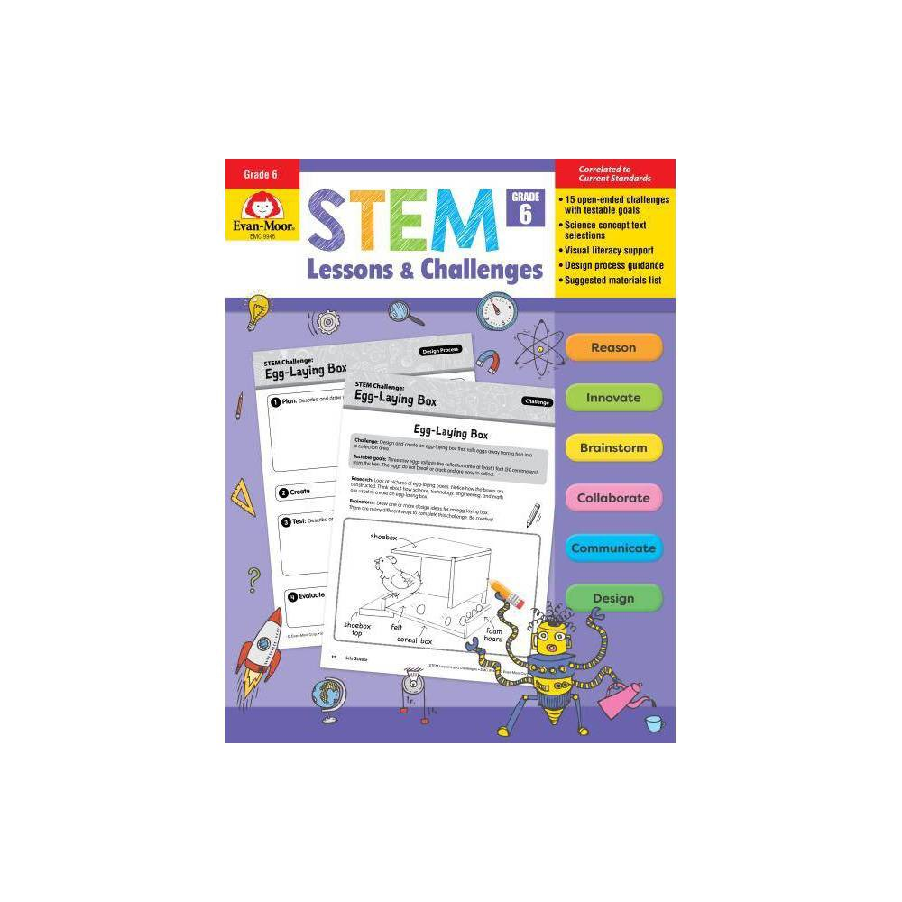 Stem Lessons And Challenges Grade 6 Paperback