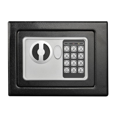 Digital Security Safe Box Black - Fleming Supply