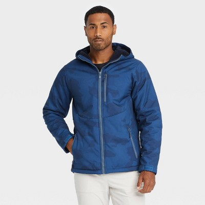 Men's Camo Print Softshell Sherpa Jacket - All in Motion™