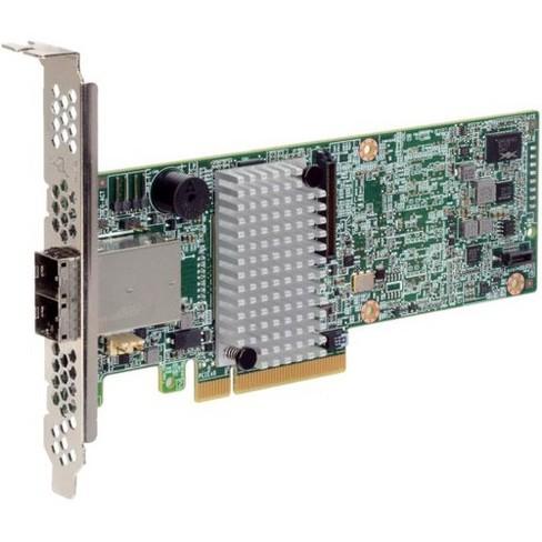 Intel RAID Controller RS3SC008 - 12Gb/s SAS - PCI Express 3.0 x8 - Plug-in Card - RAID Supported - 0, 1, 5, 10, 50, 60, 6 RAID Level - image 1 of 1