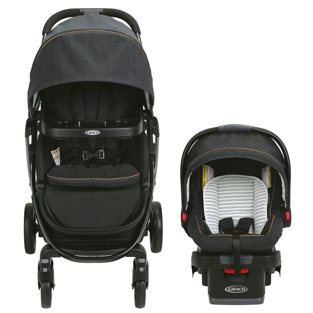 Graco Modes Travel System With SnugRide SnugLock Technology - Britton, Briton The Graco Modes Travel System is the perfect stroller to grow with you and your baby from infant to toddler. It is 3 strollers in 1 and provides 10 versatile riding options. It also includes the Graco SnugRide SnugLock 35 Infant Car Seat, holding your infant from 4-35lbs. and up to 32. Color: Briton. Gender: Unisex.
