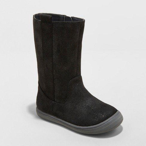 6535a6d5b88c Toddler Girls  Orabel Tall Fashion Boots - Cat   Jack™ Black 9   Target