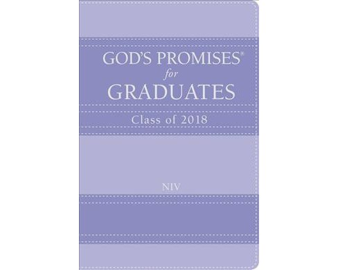 God's Promises for Graduates, Class of 2018 : New International Version, Lavender - by Jack Countryman - image 1 of 1