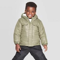Toddler Boys' Camo Tech Fashion Jacket - Cat & Jack™ Green