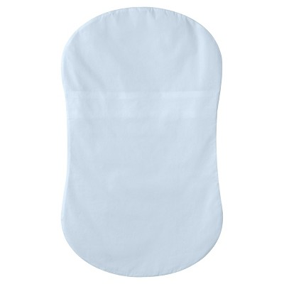 HALO Bassinest Swivel Sleeper 100% Cotton Fitted Sheet - Blue Woven