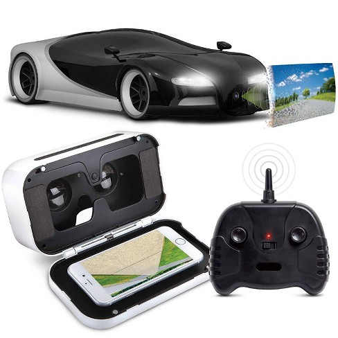 Sharper Image RC Italia Racer 1:16 Scale with Virtual Reality Smartphone Viewer