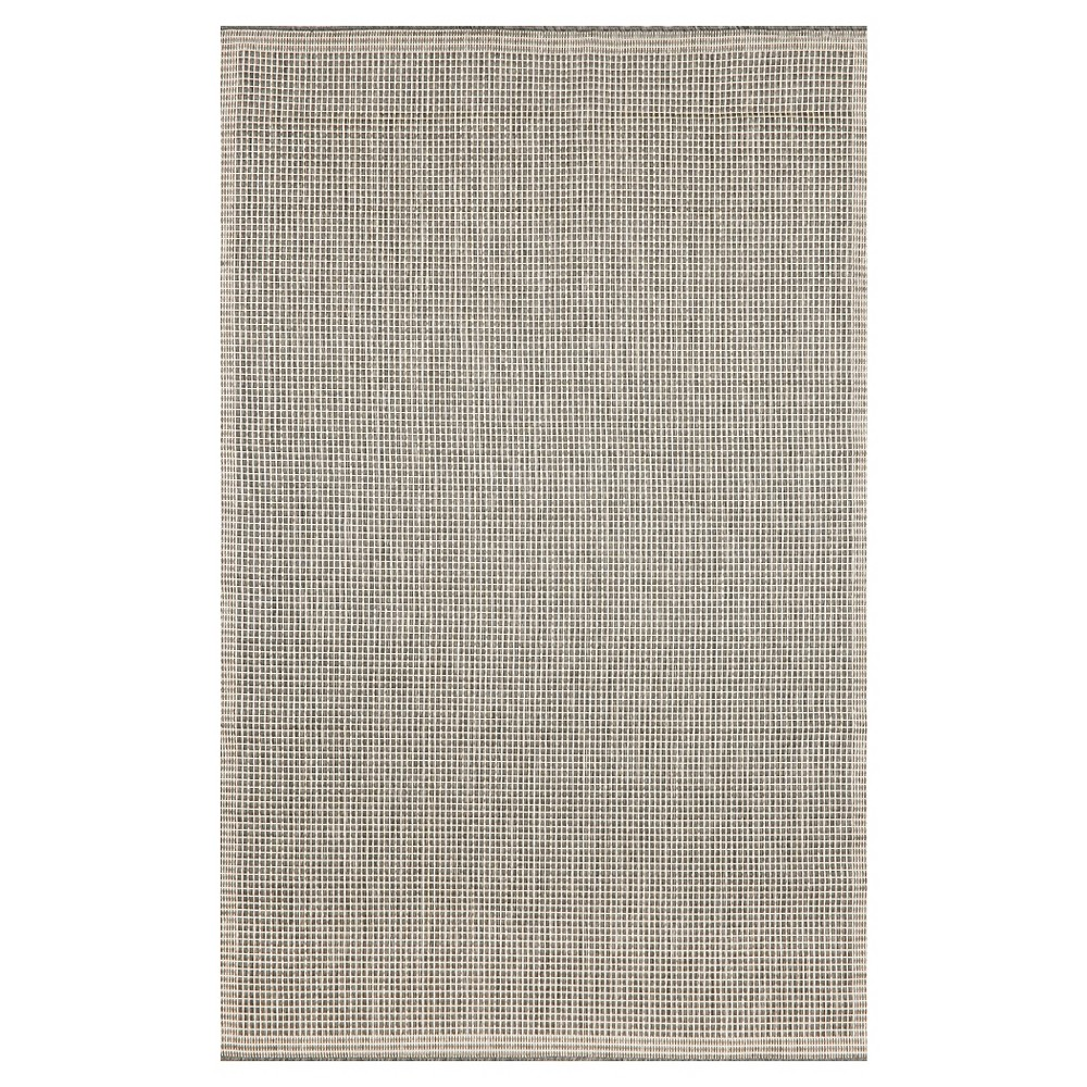 Liora Manne Terrace Texture Indoor/Outdoor Area Rug - Gray (7'10