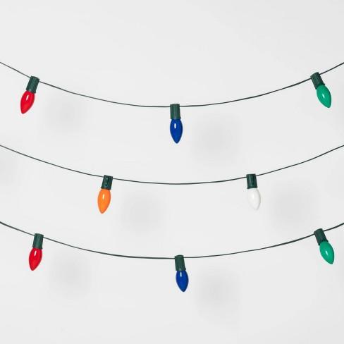 25ct Christmas Incandescent C9 String Lights  - Wondershop™ - image 1 of 2