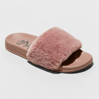 Women's Mad Love Phoebe Slide Sandal - Mauve 8