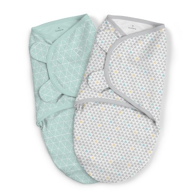 SwaddleMe Original Swaddle 3-6M - Peaks & Points L 2pk