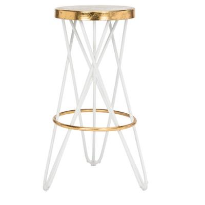 Astonishing Counter And Bar Stools Black Gold Safavieh Brickseek Unemploymentrelief Wooden Chair Designs For Living Room Unemploymentrelieforg