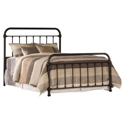 Kirkland Bed Set with Frame Included Bronze - Hillsdale Furniture