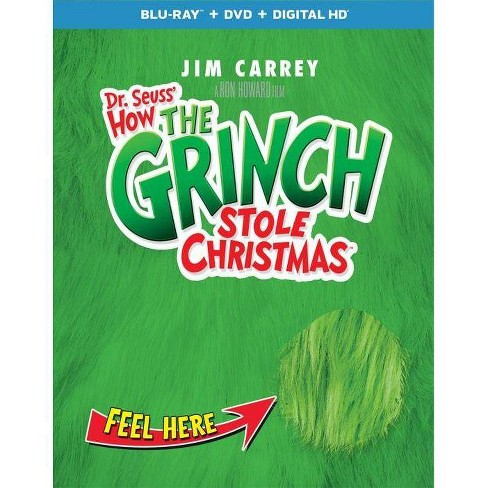 How The Grinch Stole Christmas Blu Ray.How The Grinch Stole Christmas Blu Ray