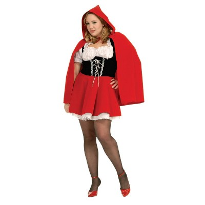 Adult Red Riding Hood Halloween Costume L