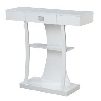 Newport Harri Console Table White - Johar Furniture