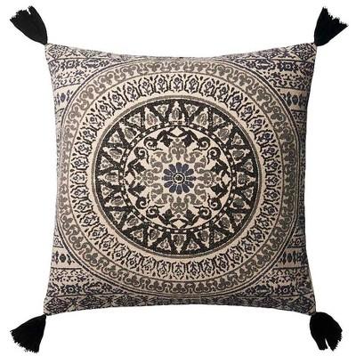 "Mandala Throw Pillow 22"" Square"