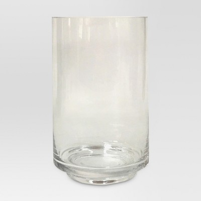 Glass Candle Holder Clear Large - Threshold™