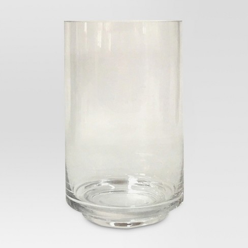 Glass Candle Holder Clear Large Threshold Target