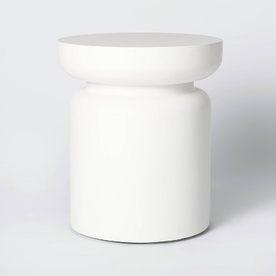 Turned Drum Patio Accent Table - Threshold™ designed with Studio McGee