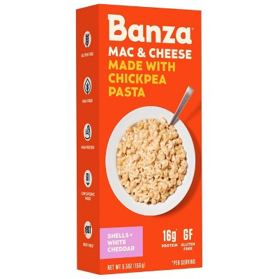 Banza Chickpea Shells and White Cheddar - 5.5oz