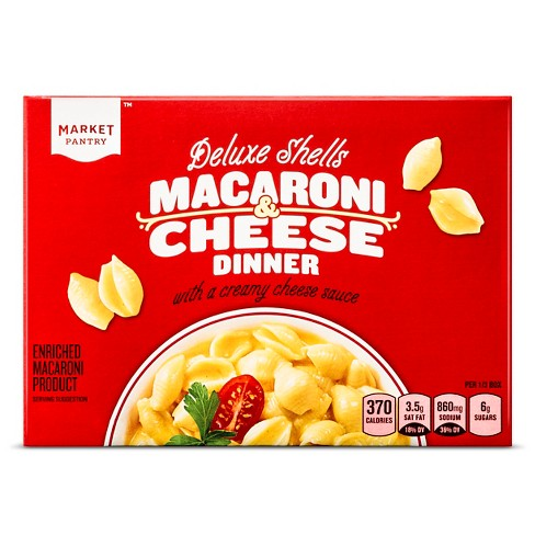 Deluxe Shells Macaroni & Cheese Dinner 12 oz - Market Pantry™ - image 1 of 1