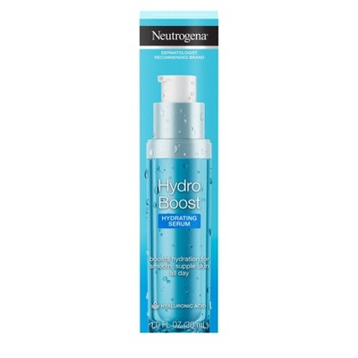 Facial Treatments: Neutrogena Hydro Boost Hydrating Serum