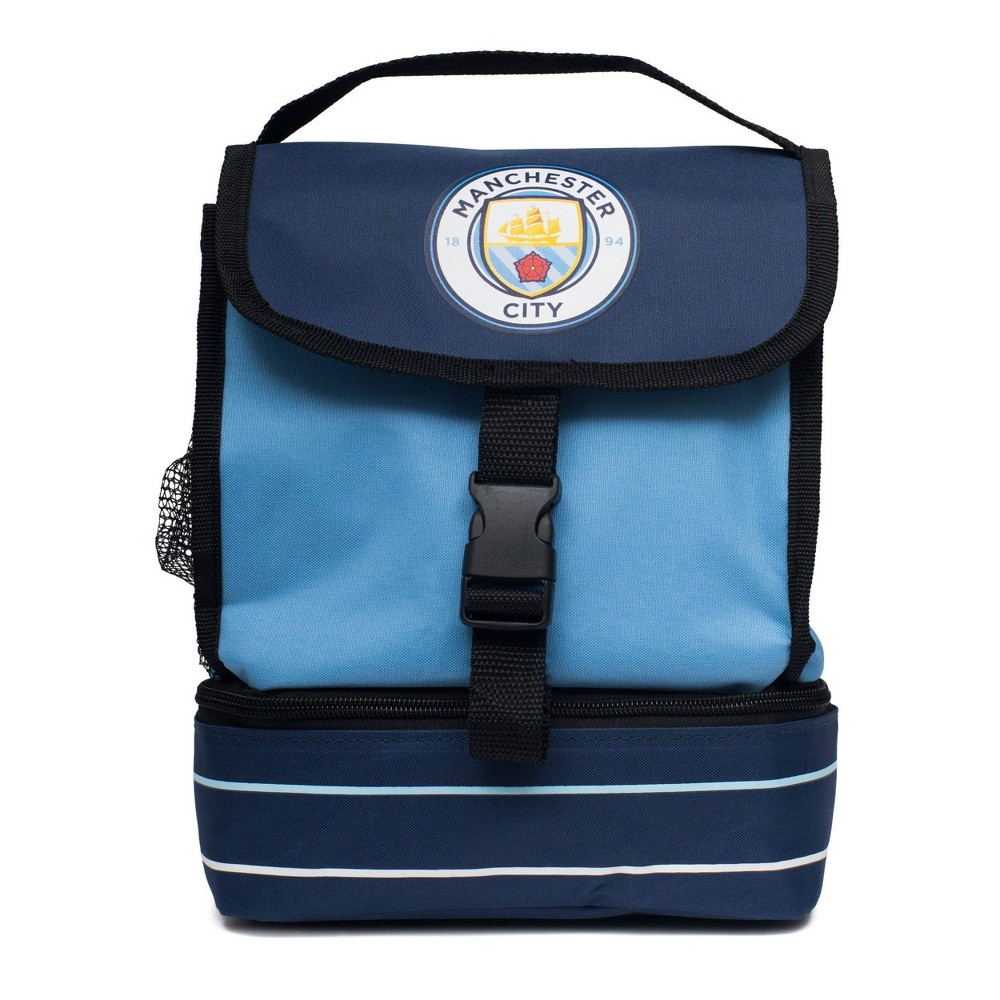Fifa Manchester City F C Buckle Lunch Tote