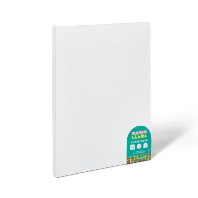 "6pk 9""x12"" Canvas Boards - Mondo Llama™"