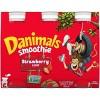 Danimals Strawberry Explosion Kids' Smoothies - 6ct/3.1 fl oz Bottles - image 4 of 4