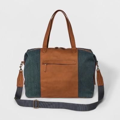 Next Canvas Weekender Bag - Universal Thread™ Indigo