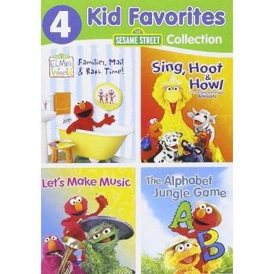 4 Kid Favorites: Sesame Street (DVD)(2016)