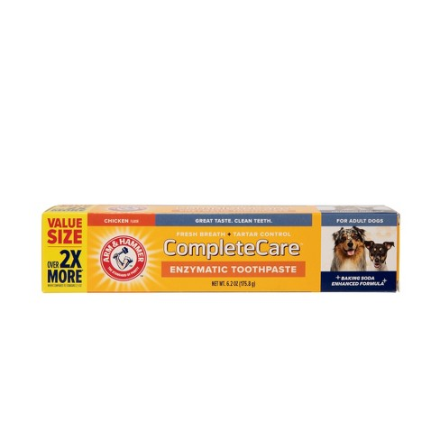 Arm & Hammer Complete Care Chicken Toothpaste for Dogs - 6.2oz - image 1 of 4