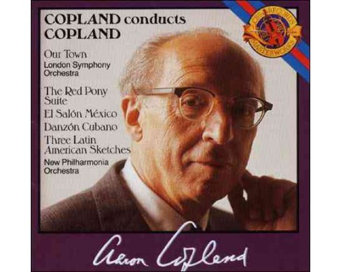 Copland & london symph - Copland conducts copland vol 1 (CD) - image 1 of 1