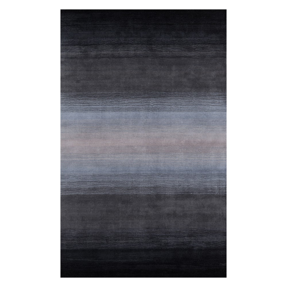 """Image of """"2'3""""""""X3'9"""""""" Solid Tufted Accent Rug Midnight Black - Momeni"""""""
