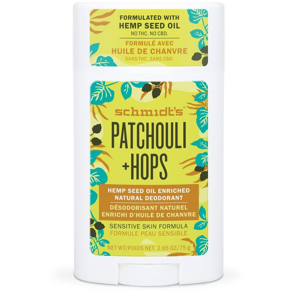 Image of Schmidt's Hemp Patchouli + Hops - 2.65oz