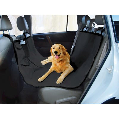 Yes Pets Oxford Water Proof Hammock Dog Car Seat Cover - Black