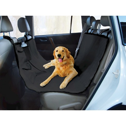 Pet Car Seat Covers >> Yes Pets Oxford Water Proof Hammock Dog Car Seat Cover Black Target