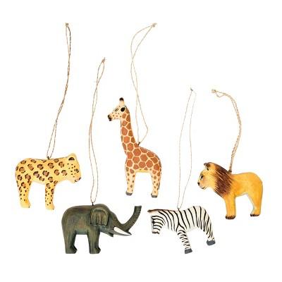Gallerie II Handmade Mini Zoo Animals Ornament A/5