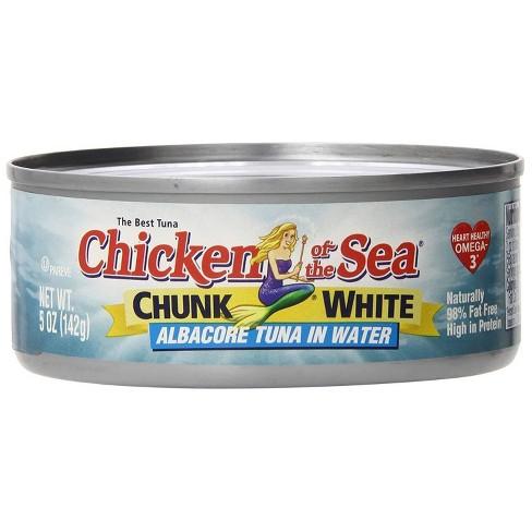 Chicken of the Sea Chunk White Albacore Tuna In Water 5 oz - image 1 of 4