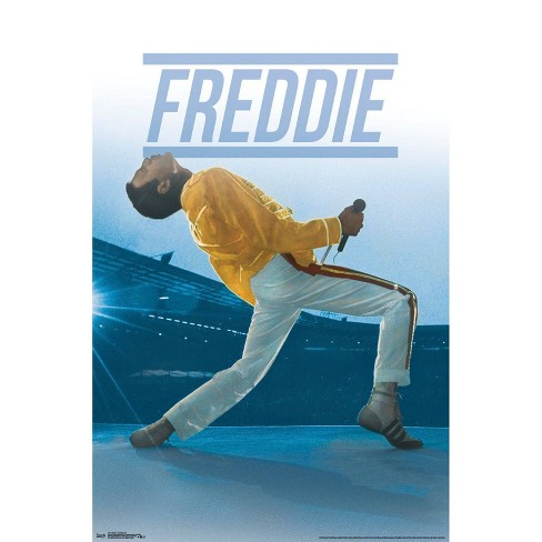 """34""""x23"""" Queen Freddie Live Unframed Wall Poster Print - Trends International - image 1 of 2"""